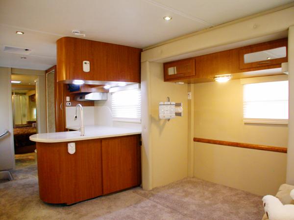 Americana Rv New Sequoyah Custom Fifth Wheel Livingroom